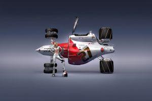 cosmic motors render artwork book cover
