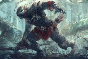 creature artwork bow fantasy art