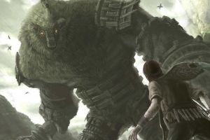 creature fantasy art shadow of the colossus wander colossus video games