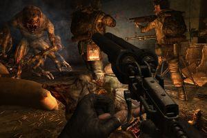creature screen shot weapon video games metro 2033