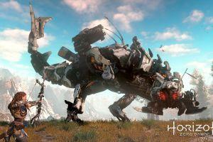 creature video games robot horizon: zero dawn video game art aloy (horizon: zero dawn) bow