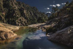 creeks coast landscape rocks