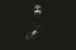 creepy horror monochrome