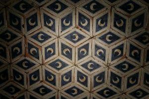 crescent moon moon tiles tile