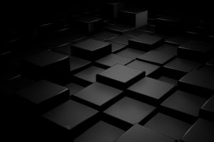 cube tile dark digital art