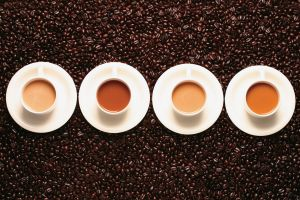 cup coffee beans coffee