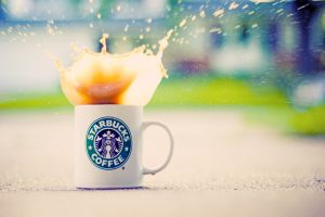 cup starbucks coffee
