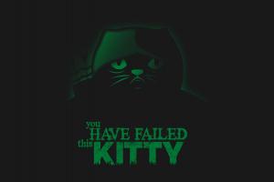 dark cats artwork quote