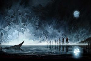 dark fantasy artwork fantasy art