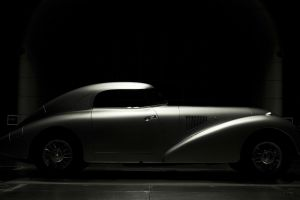 dark mercedes-benz car