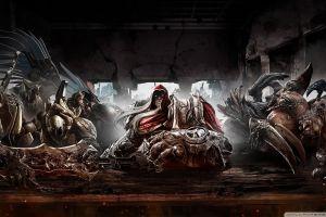 darksiders video games fantasy art video game art