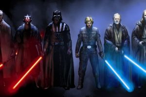 darth vader jedi star wars multiple display luke skywalker emperor palpatine count dooku darth maul qui-gon jinn lightsaber anakin skywalker obi-wan kenobi sith darth sidious dual monitors