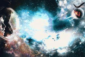 death ellen ripley astronaut galaxy planet space space art
