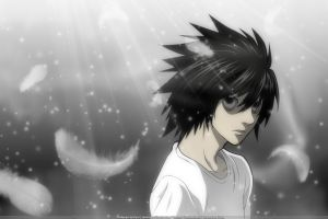 death note anime boys anime lawliet l