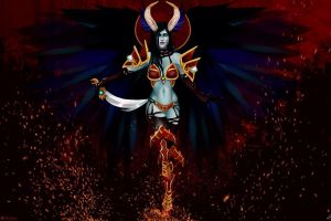 defense of the ancient queen of pain dota