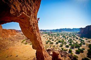 desert climbing landscape rock formation rock climbing nature photography