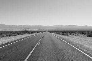 desert photography road monochrome landscape nature