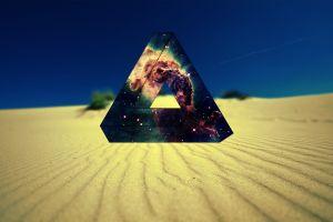 desert space penrose triangle triangle nebula