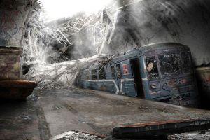 destruction apocalyptic abandoned