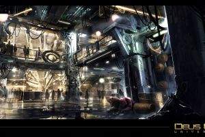 deus ex: mankind divided video games pc gaming