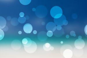 digital art blue abstract dots