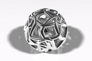 digital art fractal 3d object
