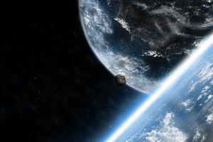 digital art planet artwork