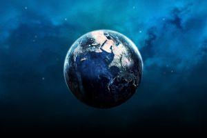 digital art planet earth space space art