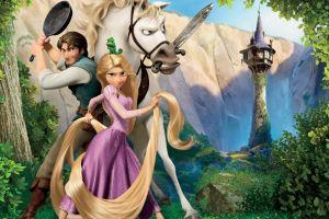 disney animated movies tangled blonde movies