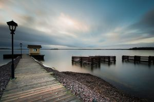 dock photography landscape water