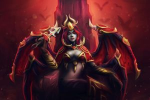 dota defense of the ancient queen of pain