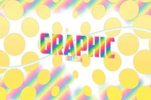 dots colorful graphic design polka dots rainbows
