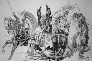 drawing spooky fantasy art artwork