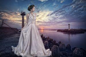 dress women model asian