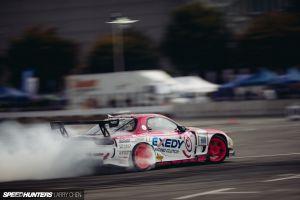 drift race cars mazda rx-7 vehicle