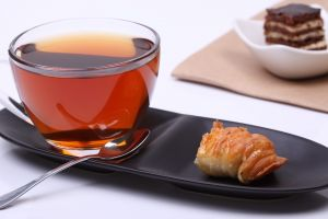 drink cup tea food spoon