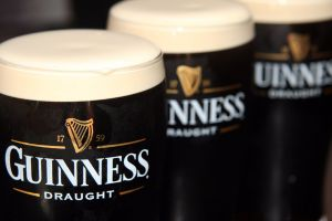 drinking glass guinness drink beer