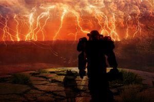 earth apocalyptic destruction fallout fallout 4 dog road