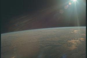 earth atmosphere space sun