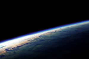 earth atmosphere space