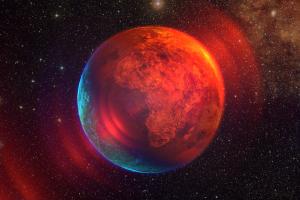 earth space digital art space art planet