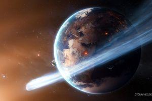 earth taenaron space stars cgi