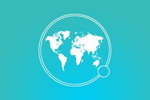 earth world blue background madagascar simple background cyan background map continents cyan