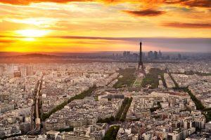 eiffel tower paris building france city