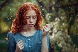 ekaterina yasnogorodskaya redhead women face