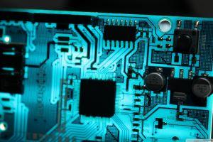 electronics turquise technology
