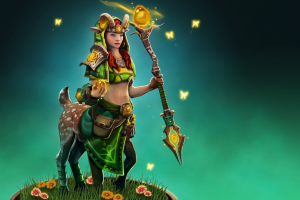 enchantress (dota) loading screen dota 2