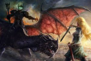 éowyn artwork the lord of the rings fantasy art witchking of angmar