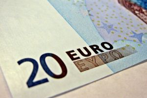 euros money numbers paper