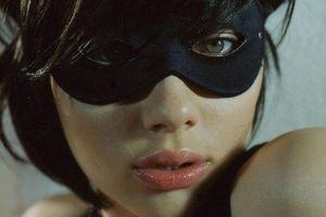 eyes mask lips scarlett johansson